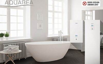 Good Design Awards für Panasonic Aquarea Luft/Wasser Wärmepumpen