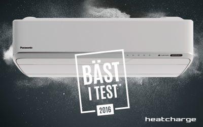 Heatcharge von Panasonic ist die energieeffizienteste Luft/Luft Wärmepumpe